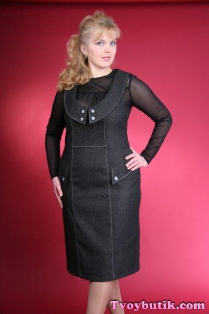 Сшить платье для полной женщины на осень 15